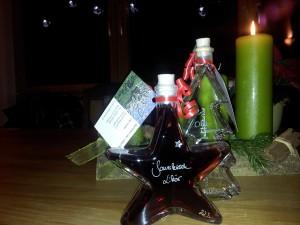 weihnachtsflaschen